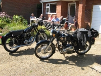 Section members and their bikes